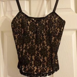 NWT The Limited lace bustier camisole